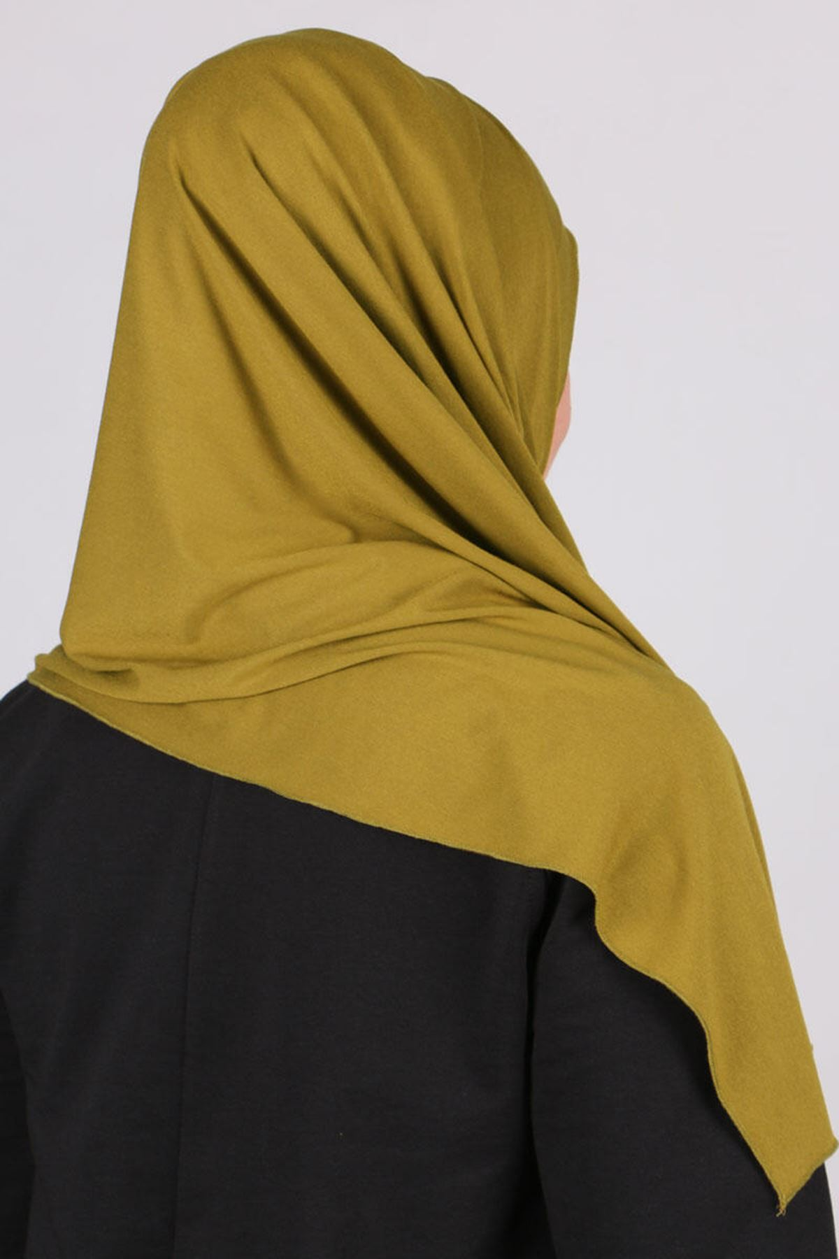 503 Combed Cotton Shwal - Olive Green