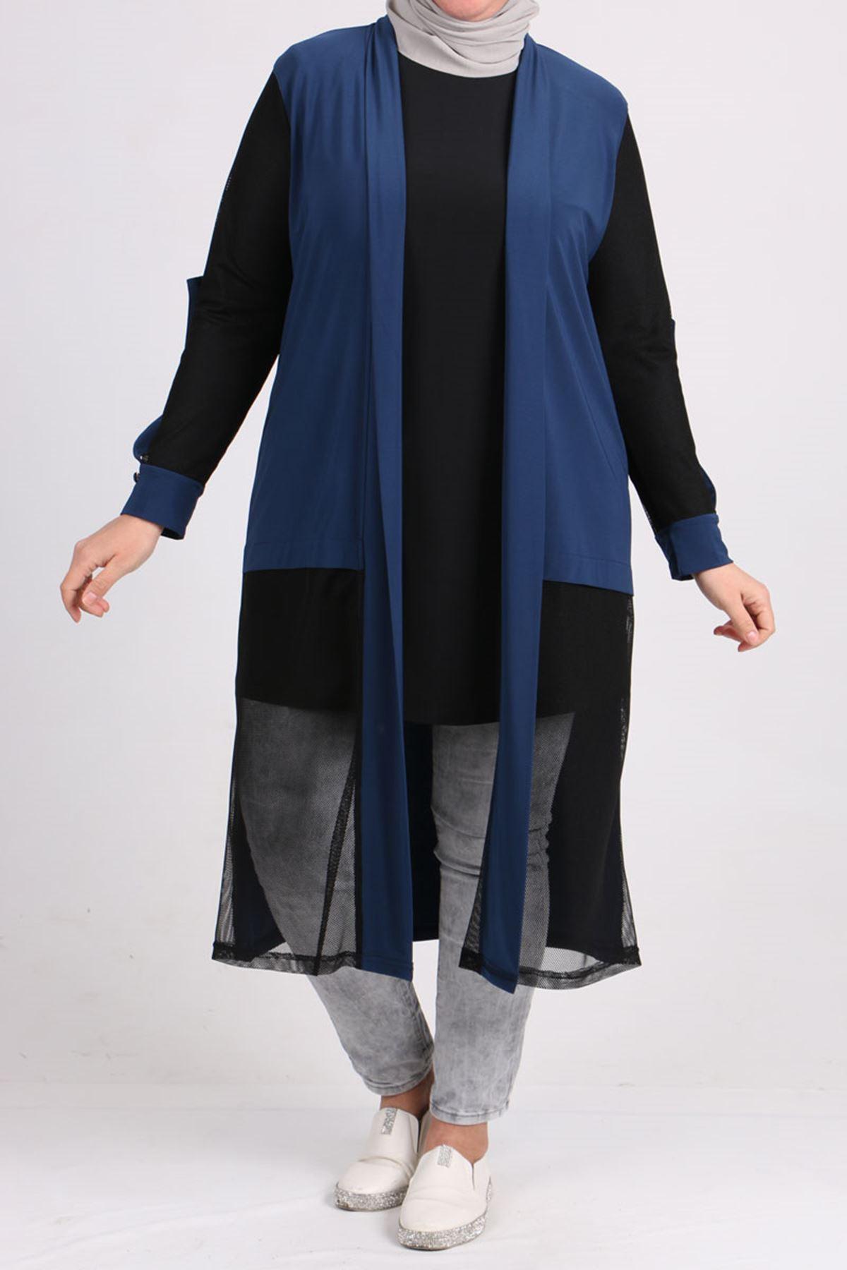 3151 Plus Size Sandy Jacket - Indigo