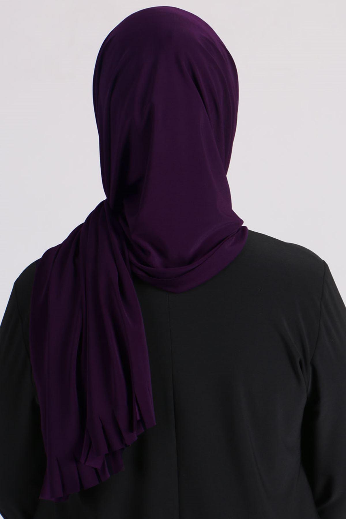 506 Instant Shawl - Dark Purple