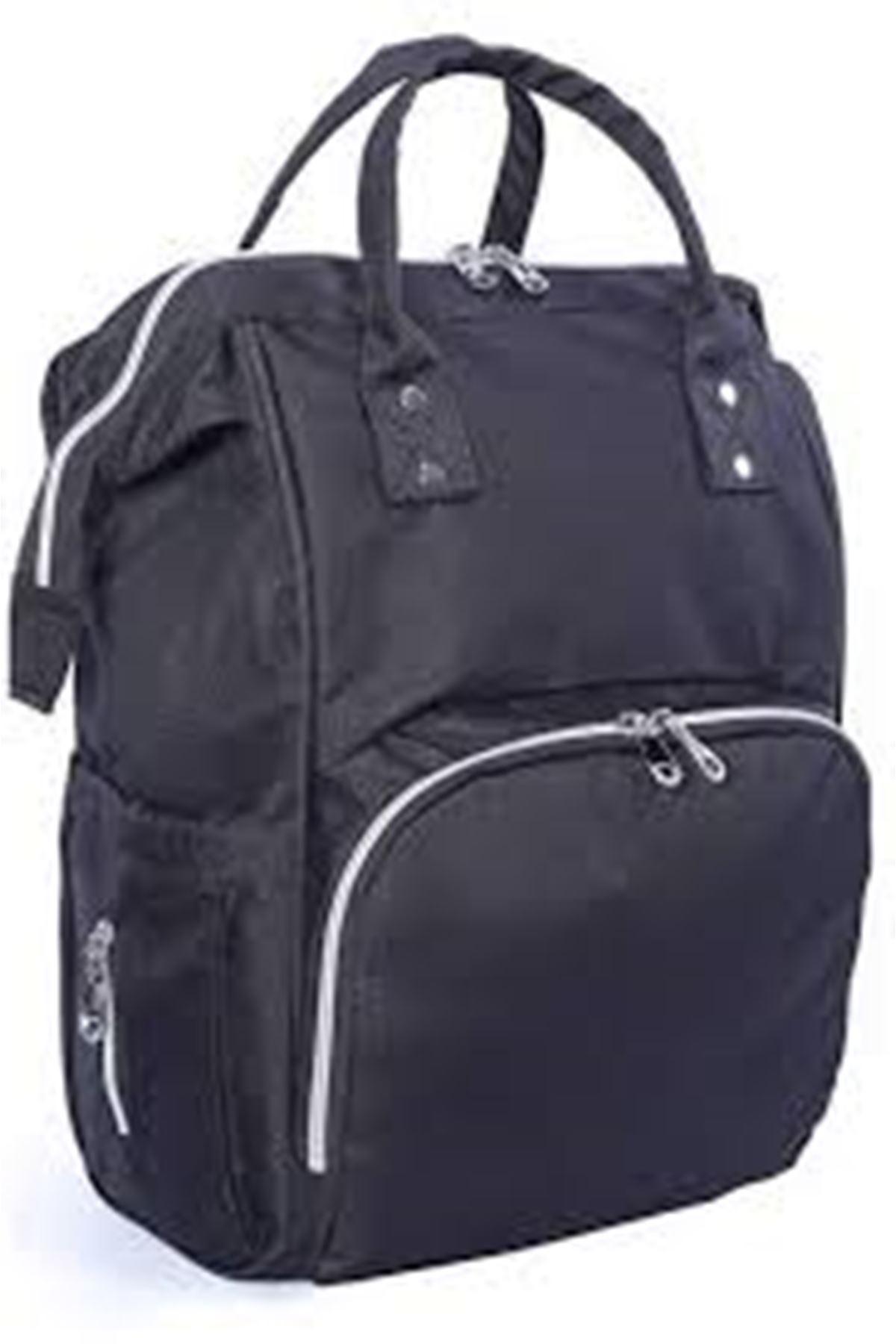 19033 Functional Mother Baby Bag- Black