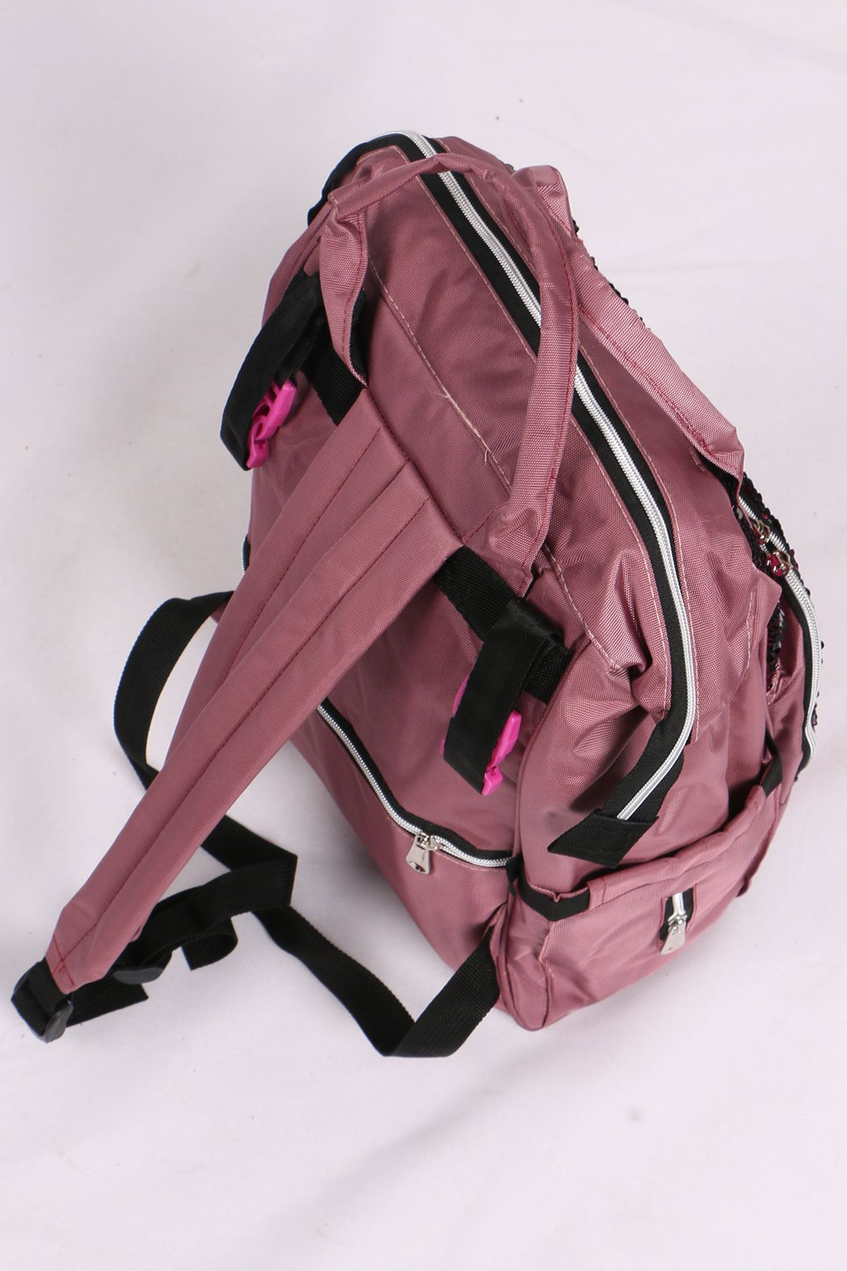 19033 Functional Mother Baby Bag- Pink