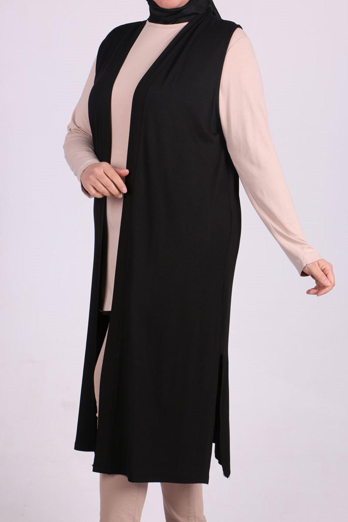 4007 Plus Size (Wear & Go) Vest - Black