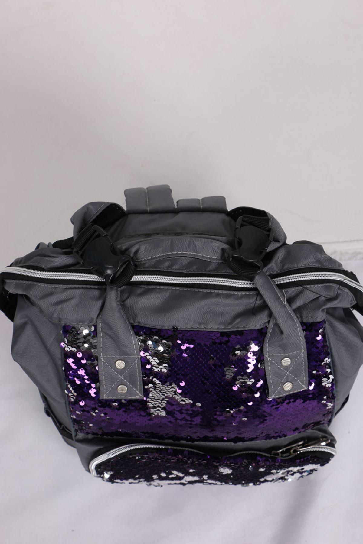 19033 Functional Mother Baby Bag- Purple