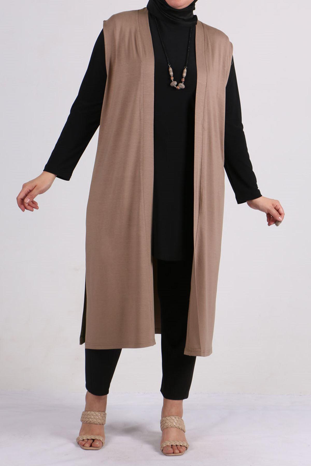 4007 Plus Size (Wear & Go) Vest - Mink