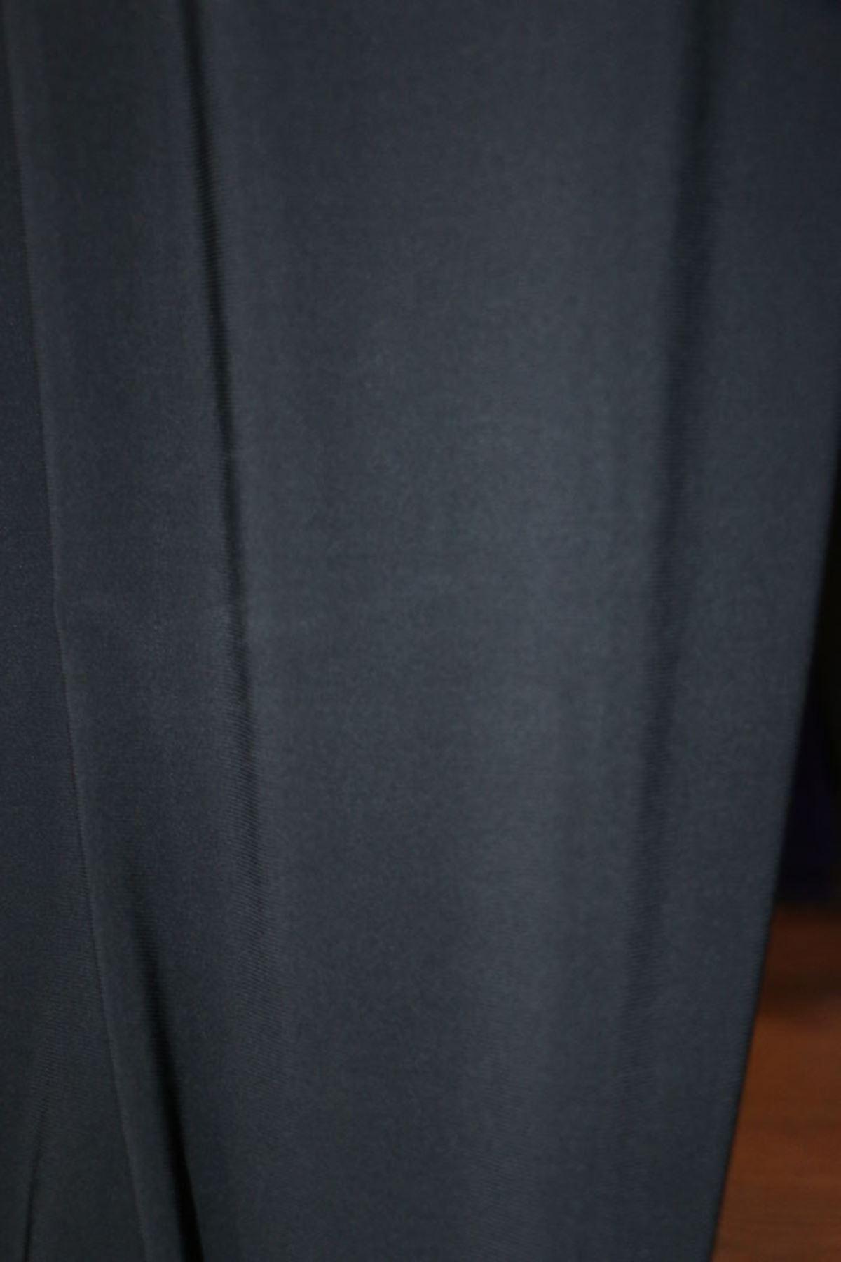 D-27602-1 Büyük Beden Defolu Sandy Pantolon-Siyah