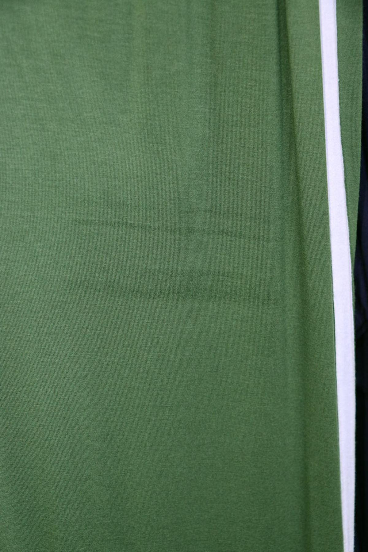 7689  طقم بنطال مقاس كبير - أخضر