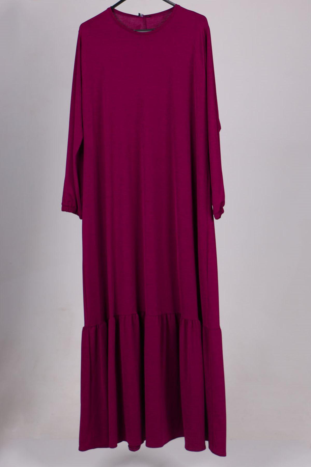 2095 Plus Size Dress - Daisy patterned - Beige
