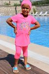 1708 Kids Swimsuit-Pink